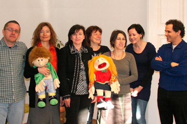 Palfrader besucht die neuen Räumlichkeiten des Kinderschutz Tirol