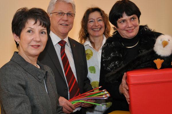 NR-Präsidentin Barbara Prammer besucht den kinderschutz