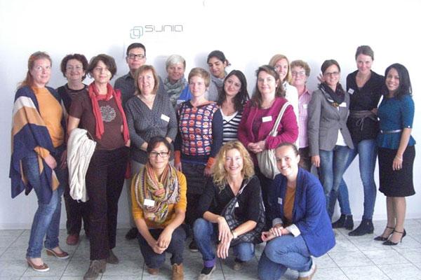 Kinderschutzzentren bei der Internationalen Konferenz Sunia Geel
