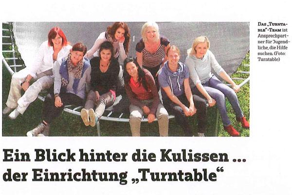 Team der Turntable Kufstein WG