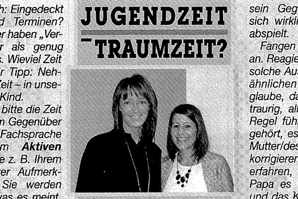 Team Osttirol in einem Artikel über die Zeit von Judgendlichen