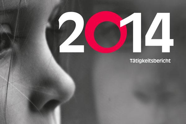 Das Titelbilds des Jahresberichts 2014