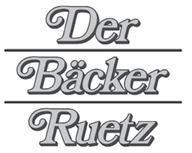 Das Logo des Bäcker Ruetz