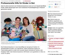 Kleine Zeitung berichtet über Kinderschutz Lienz