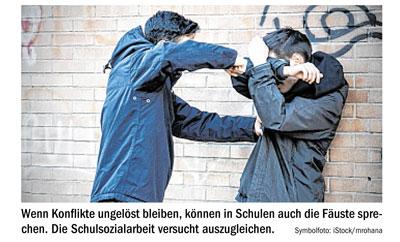 Ausschnitt aus dem Artikel der Tiroler Tageszeitung
