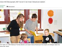 Tiroler Tageszeitung berichtet vom Tiroler Kinderschutz