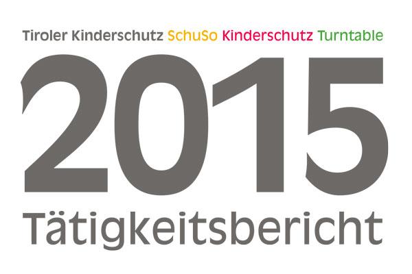 Das Titelbild des Jahresberichts 2015