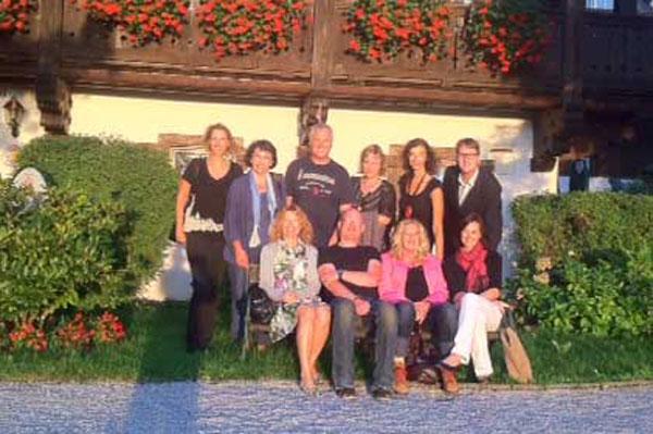Foto von den Teilnehmern der Klausur in Salzburg