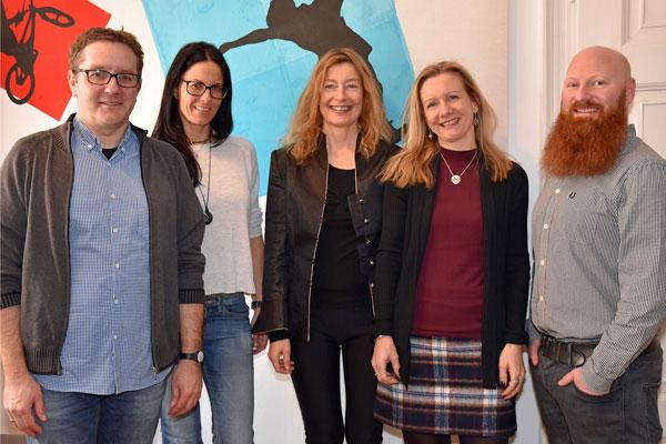 Die Leitung der verschiedenen Säulen in der Tiroler Kinder und Jugend GmbH