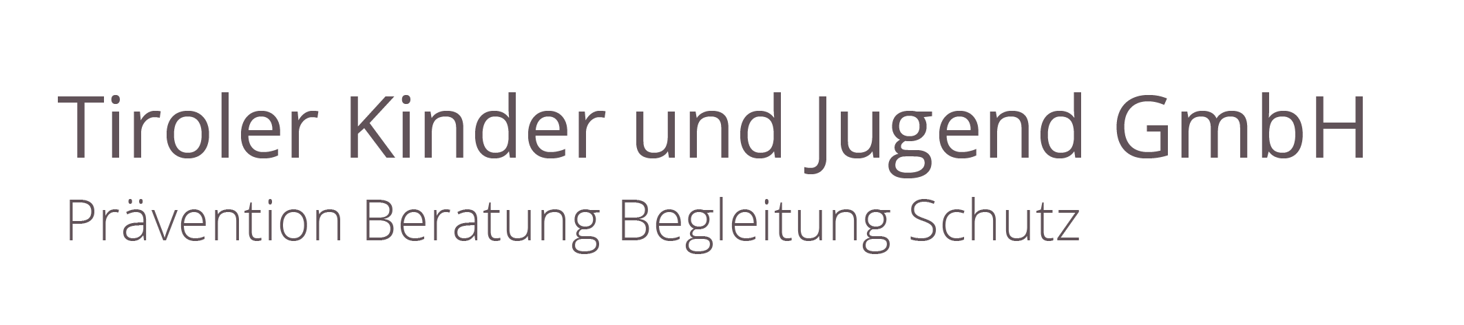 Tiroler Kinderschutz Logo