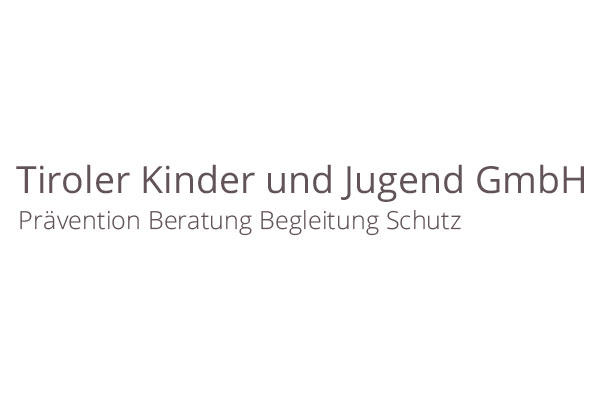 Das Logo der Tiroler Kinder und Jugend GmbH als Beispielbild