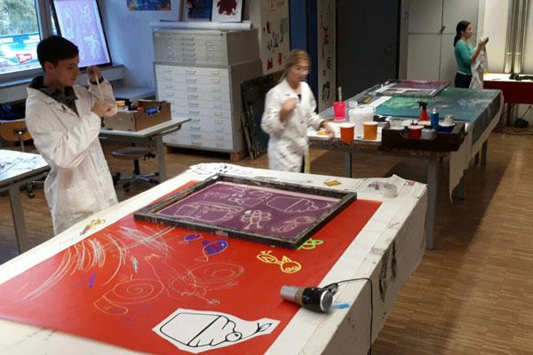 Das Kunstprojekt der Schüler_innen der HTL Bau und Design
