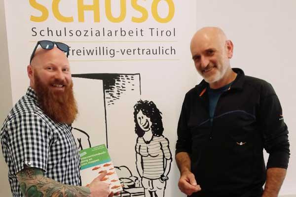 Philipp Bechter und Horst Lehner