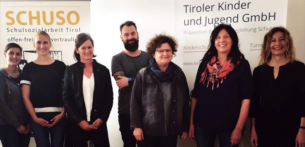 Der Verein Integration Tirol zu besuch in der Tiroler Kinder und Jugend GmbH