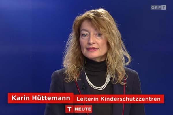 Bild zeigt Karin Hüttemann, Leiterin Kinderschutzzentreb Tirol