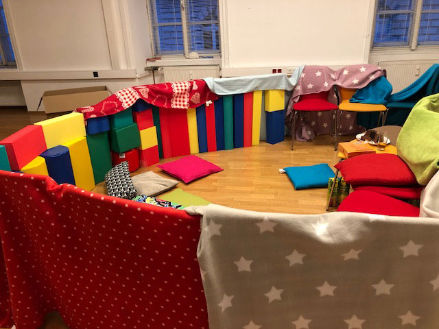 Kindergruppe im Kinderschutz Innsbruck