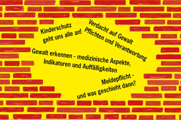 "Thumbnail für den Flyer ""Gewalt an Kindern"""