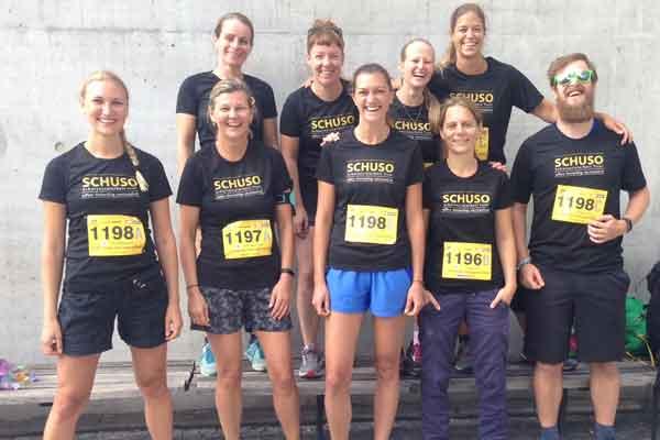 Foto der Teilnehmer vom Tiroler Firmenlauf