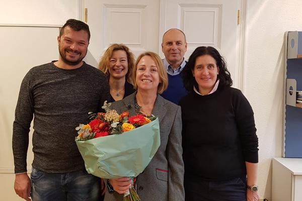 Bild von der Verabschiedung von Hofrätin Dr.in Angelika May
