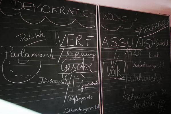 Beispielbild für gelebte Demokratie an Imster Schulen