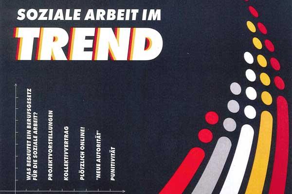 Deckblatt der Zeitung Soziale Arbeit im Trend